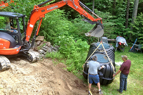 Installing Septic Systems