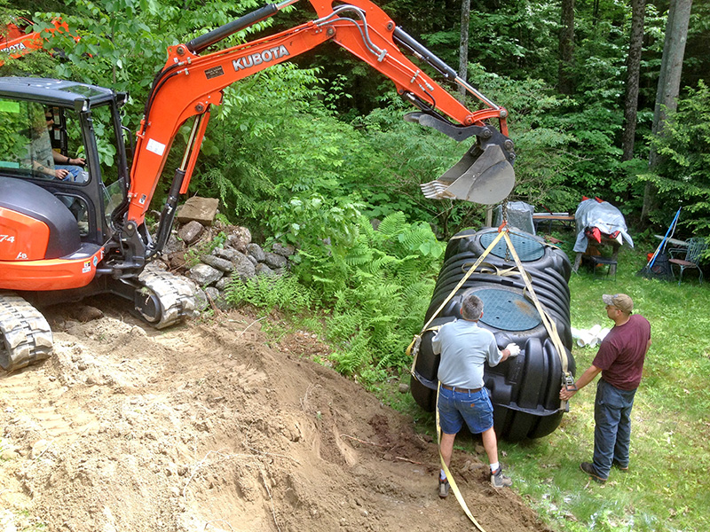 Stearns Septic Install
